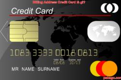 Billing Address Credit Card là gì?