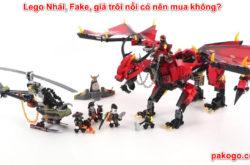 Lego Nhái, Fake, giả trôi nổi có nên mua không?