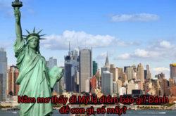 Nằm mơ Thấy Đi Mỹ là Điềm Báo Gì? Đánh Đề Con Gì, Số Mấy?