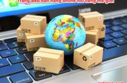 Trang web bán hàng online nổi tiếng thế giới