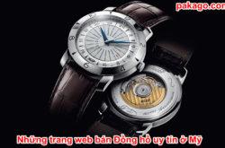Những trang web bán Đồng hồ uy tín ở Mỹ
