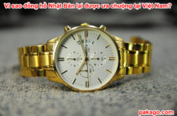 Vì sao đồng hồ Nhật Bản lại được ưa chuộng tại Việt Nam?