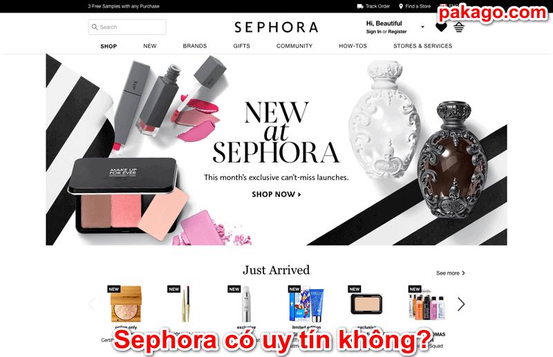 Sephora có uy tín không?