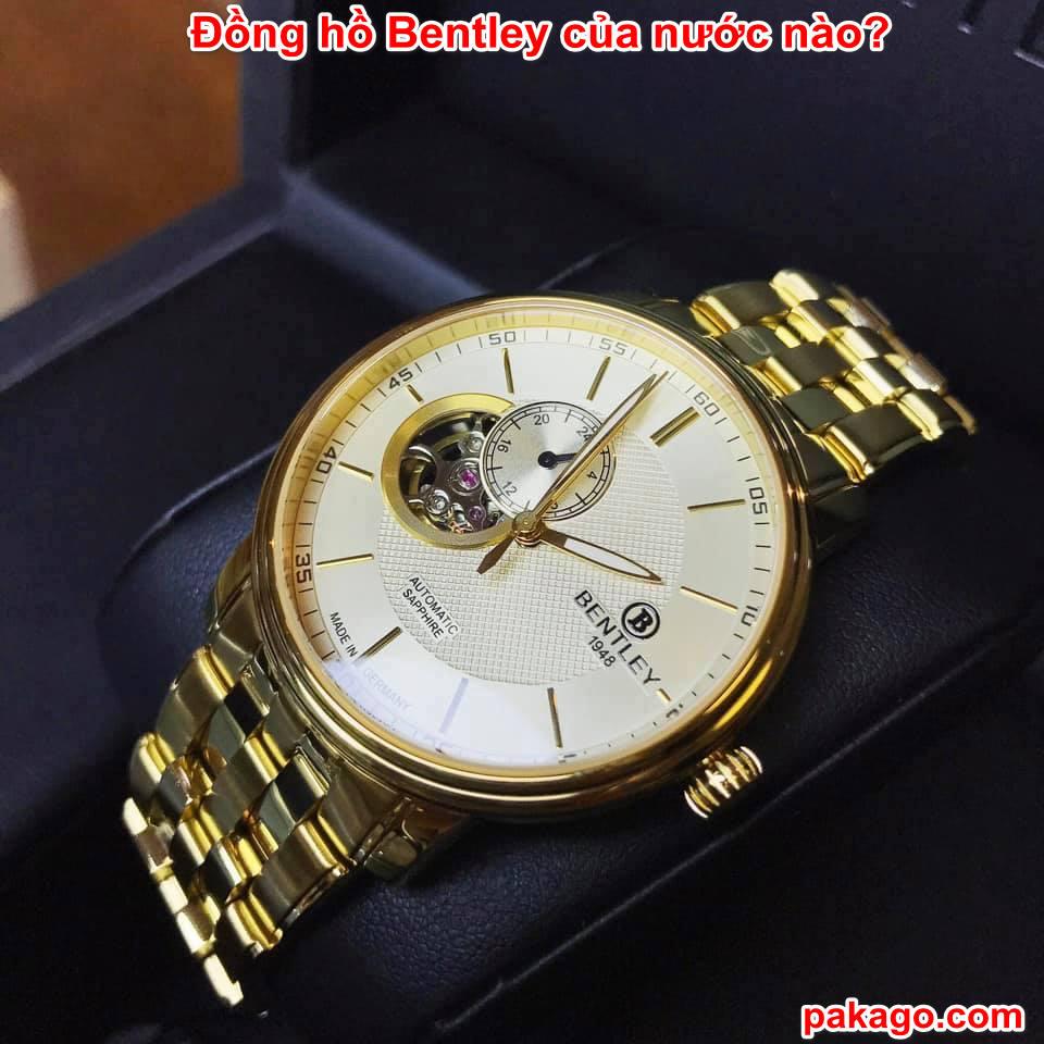 Đồng hồ Bentley của nước nào?