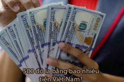 50, 500, 5000 Đô La USD $ bằng Bao Nhiêu Tiền Việt Nam 2019