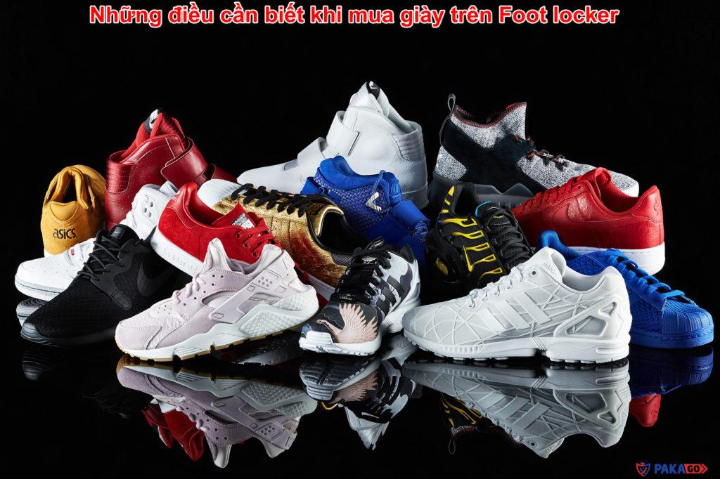 Những điều cần biết khi mua giày trên Foot locker