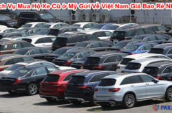 Dịch Vụ Mua Hộ Xe Cũ ở Mỹ Gửi Về Việt Nam Giá Bao Rẻ Nhất