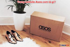Trang website Asos.com là gì?