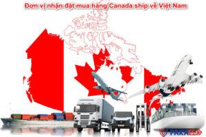 Đơn vị nhận đặt mua hàng Canada ship về Việt Nam