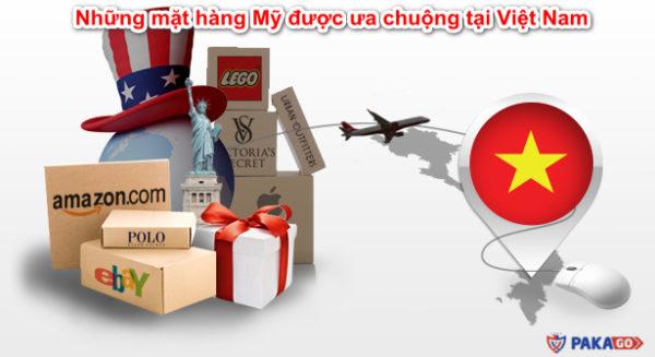 Những mặt hàng Mỹ được ưa chuộng tại Việt Nam