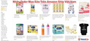 Mua Sữa Trên Amazon Ship Việt Nam