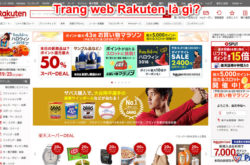 Trang web Rakuten là gì?
