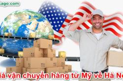 Ship hàng từ Mỹ về Việt Nam tại Pakago