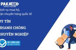 Bảng cước dịch vụ mua hộ vận chuyển quốc tế Pakago