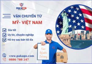 Dịch vụ vận chuyển từ Mỹ về Việt Nam tại Pakago- đơn vị vận chuyển uy tín