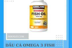Dầu cá Omega 3 Fish Oil Mỹ chính hãng