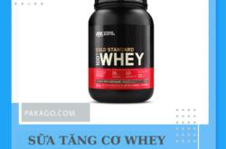 Mua hộ hàng Mỹ tại Sài Gòn sữa uống tăng cơ Whey Protein USA chính hãng