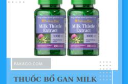 Order hàng từ Mỹ thuốc bổ gan Milk Thistle Extract chính hãng, uy tín