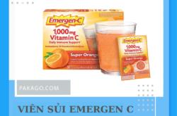 Order us gói C sủi hương trái cây Emergen C của Mỹ chính hãng