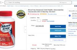 Thuốc bổ khớp Move Free Joint Health mua hộ hàng Mỹ uy tín, giá tốt hiện nay