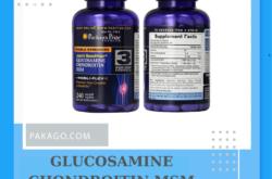 Viên uống hỗ trợ xương khớp Glucosamine Chondroitin MSM Puritan