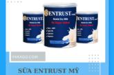 Sữa Entrust hàng Mỹ xách tay uy tính, chính hãng 100%